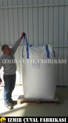İZMİR ÇUVAL FABRİKASI - 90 X 90 X 130 cm Yeni Big Bag Çuval