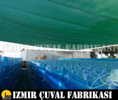 5 x 10 mt GÖLGELİK FİLE KENARLARI DİKİMLİ HALKALI