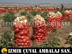 İZMİR ÇUVAL FABRİKASI - 55 cm X 90 cm Soğan Çuvalı