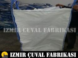 İZMİR ÇUVAL FABRİKASI - 90 X 90 X 115 cm Baskı Hatalı Big Bag Çuval